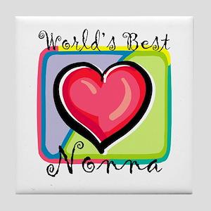 WB Grandma [Italian] Tile Coaster